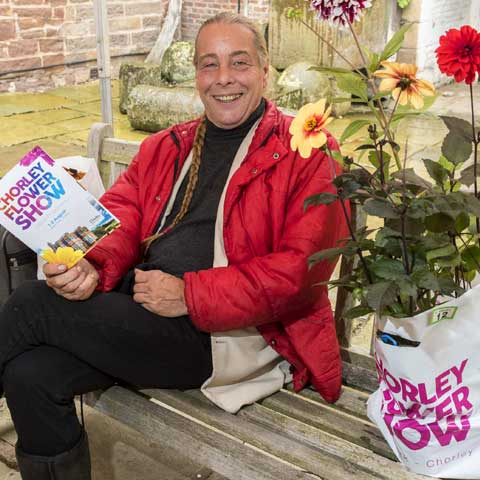 Chorley Flower Show - Bob Flowerdew