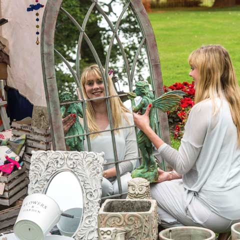 Chorley Flower Show - Lady-mirror