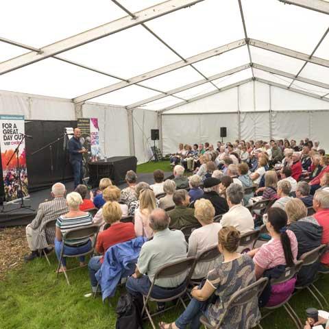 Chorley Flower Show - Joe Swift presentation