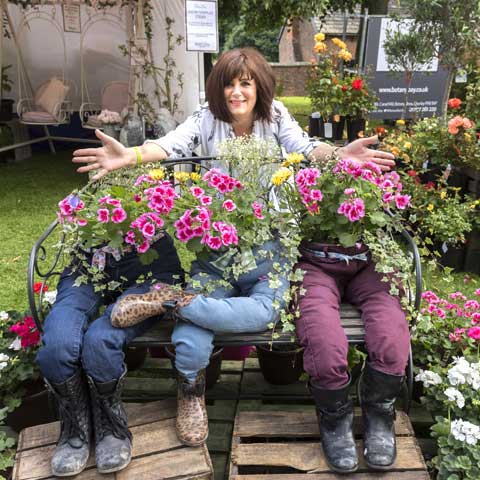 Chorley Flower Show - pants-flowers