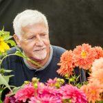 Chorley Flower Show held in Astley Park. Jack Gott of JRG Dahlias