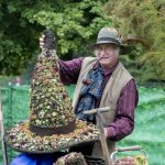 Chorley Flower Show held in Astley Park. Ray Rowe of Sunray Plants